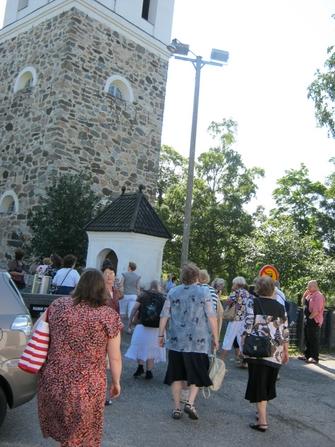 Tutustuminen Rauman Pyhän Ristin kirkkoon